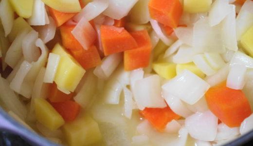 ココナッツオイル「ピアココナ」でカレー作り
