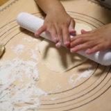 息子とパン作り