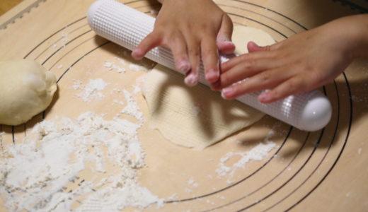 初挑戦!息子と一緒に手作りパン!