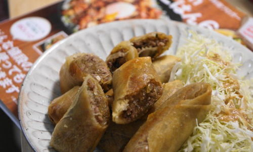 お弁当にパリパリ春巻き♪syunkonカフェごはん6のレシピが美味しいんです!